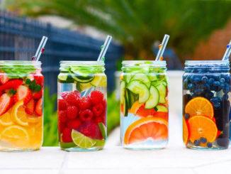 bienfaits-eau-infusée-fruits