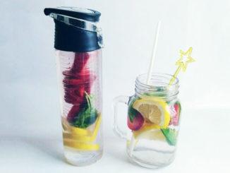 eau aromatisée basilic citron fraise
