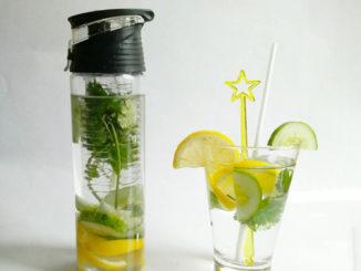 eau aromatisée citron concombre coriandre