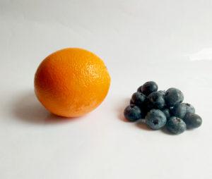 recette eau infusée orange myrtille