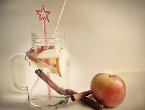eau aromatisée pomme cannelle