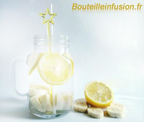 Recette infusion banane citron