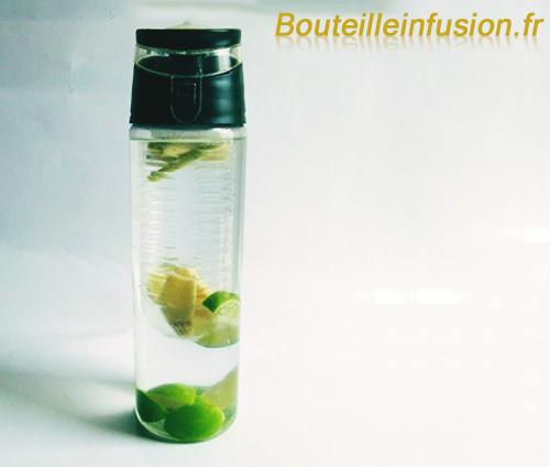 eau aromatisée citron vert citronnelle gingembre