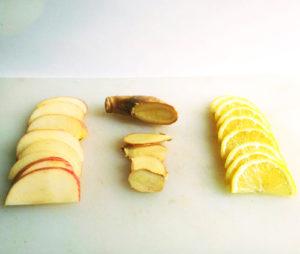 eau aromatisée citron gingembre pomme 2