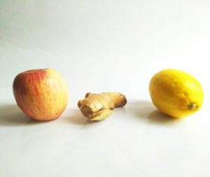 eau aromatisée citron gingembre pomme 1