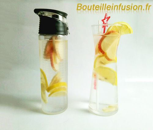 eau aromatisée citron gingembre pomme 3