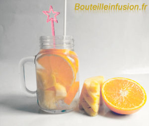 infusion ananas orange