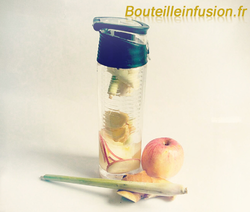 Infusion citronnelle gingembre pomme