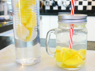 Eau aromatisée mangue gingembre