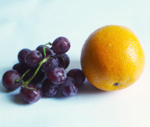 Recetteeau aromatisée orange raisin