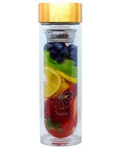 bouteille à infusion en verre
