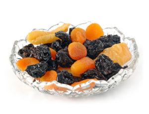 eau infusée fruits secs