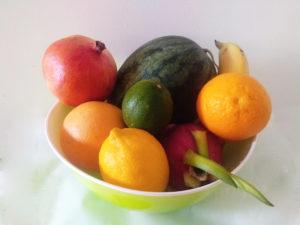 fruits eau infusée