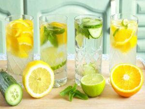 bienfaits eau infusée