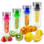 bouteille infusion fruits