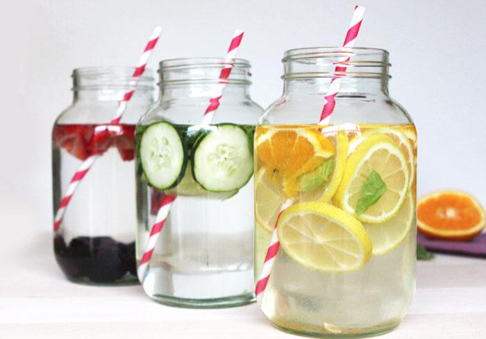 eau infusée fruits